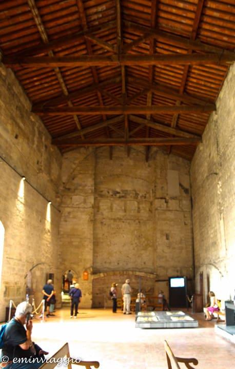 Provenza e Camargue, interno del Palazzo dei Papi