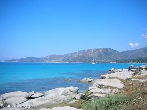 Uno spicchio di Sardegna spiaggia del riso