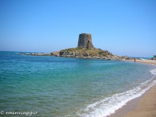 Uno spicchio di sardegna torre costiera