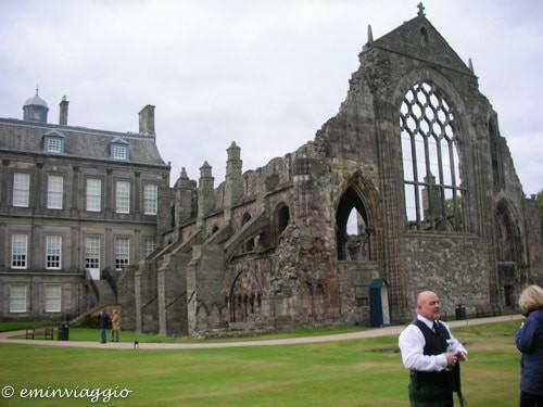 Edimburgo in settembre i giardini