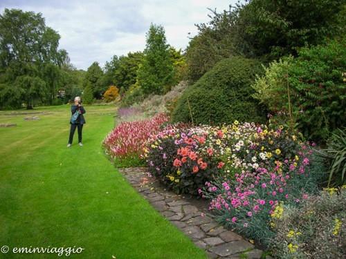 Edimburgo in settembre scorcio dei giardini