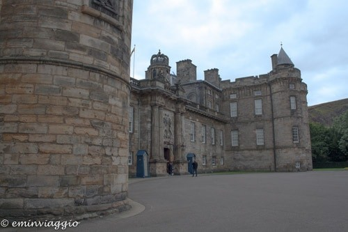 Edimburgo a settembre Palace of Holyroodhouse