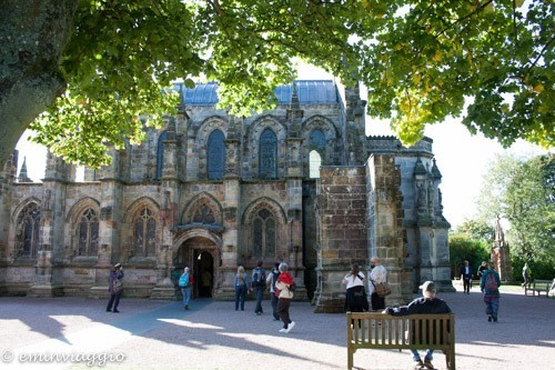 Edimburgo in settembre rosslyn chapel