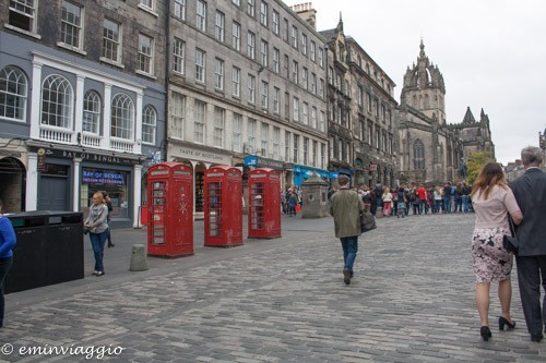 Edimburgo in settembre, Royal Mile