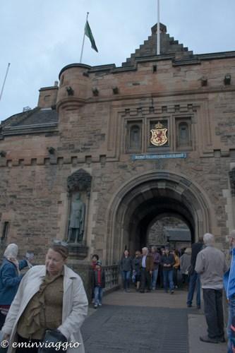 Edimburgo in settembre il castello