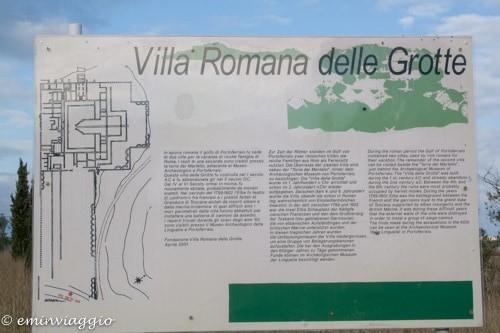 isola d'Elba, Villa Romana
