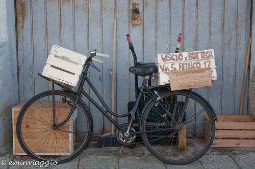 isola d'Elba, bici pubblicitaria
