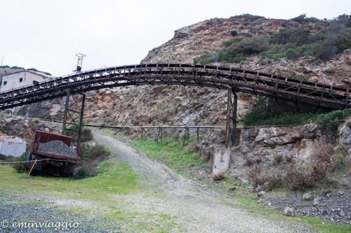 l'isola d'Elba nastri trasportatori alle miniere calamita