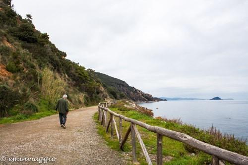 isola d'Elba, sentiero attrezzato