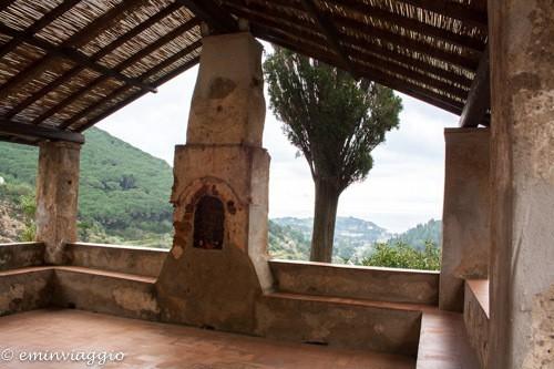 isola d'Elba dal Santuario di Monserrato