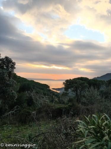 isola d'Elba finalmente fuori dalla miniera