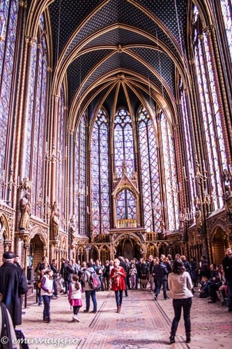 Parigi, Sainte Chapelle, Sala superiore