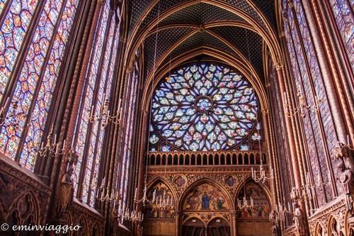 Parigi Sainte Chapelle, Cappella Superiore