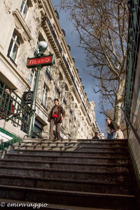 metro Parigi