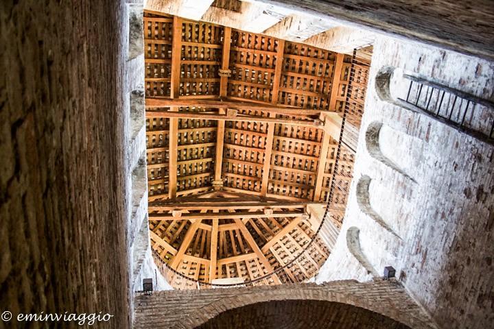 Vignola, soffitto della Roccahetta
