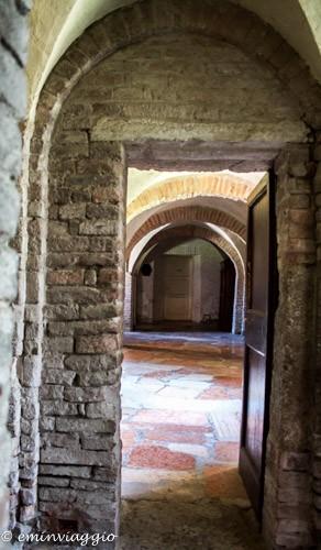 Nonantola, la cripta