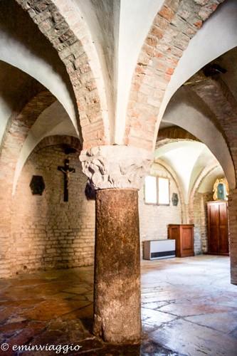 Nonantola, la cripta più antica