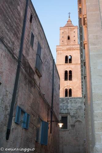Matera il campanile della Cattedrale