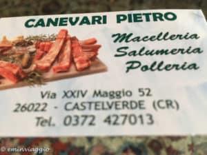 Itinerari nel gusto fra salami, cotechini e bolliti. Macelleria Canevari Castelverde