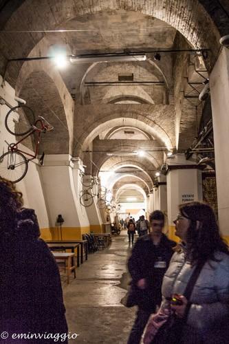 Bologna sotterranea velostazione Dynamo