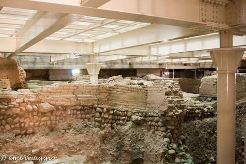 Bologna sotterranea scavi sala borsa