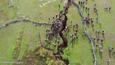 Machu Picchu voragine