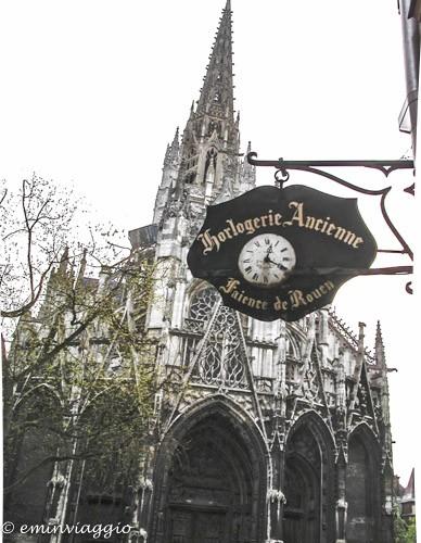 Normandia Rouen cattedrale