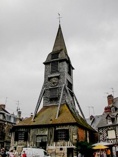Normandia Honfleur Campanile della Chiesa di Sainte Catherine