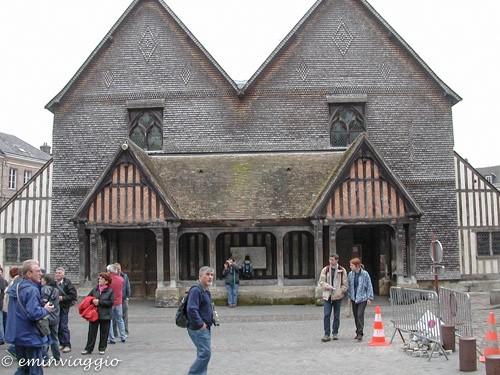 Normandia Honfleur la chiesa di Sainte Catherine
