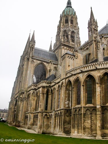 Normandia Bayeux Cattedrale di Nôtre Dame