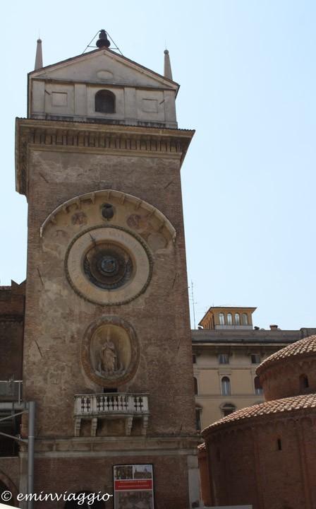 Mantova torre dell'orologio