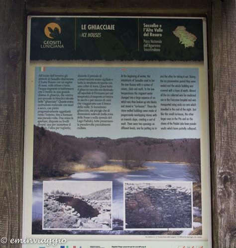 Sassalbo descrizione delle ghiacciaie