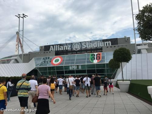 Juventus stadium ingresso vip