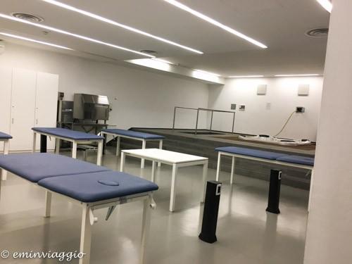 Juventus stadium area massaggi