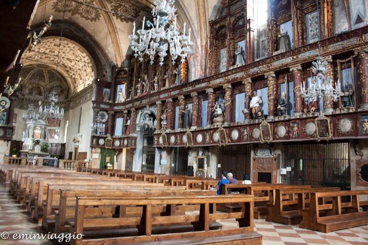 Mantova dall'acqua l'interno del Santuario della Beata Vergine delle Grazie