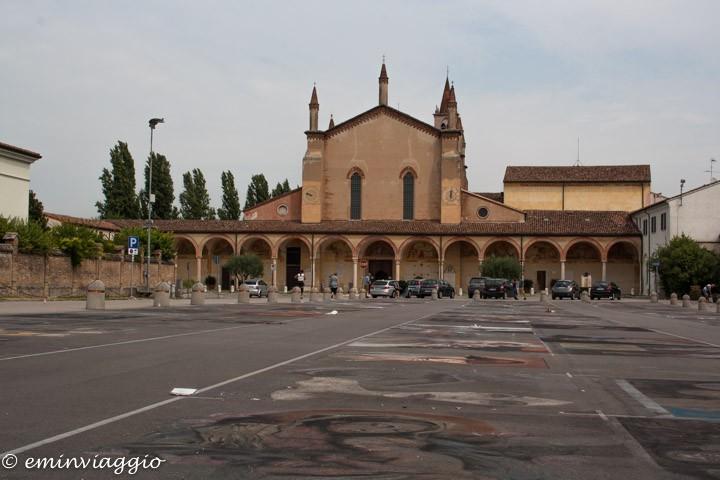 Mantova dall'acqua le opere dei Madonnari
