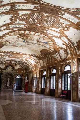 Palazzo Ducale Mantova, galleria dei fiumi