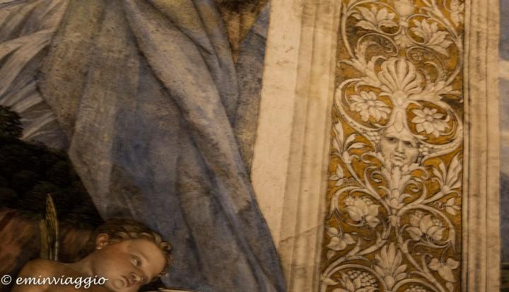Mantova dall'acqua autoritratto di Andrea Mantegna
