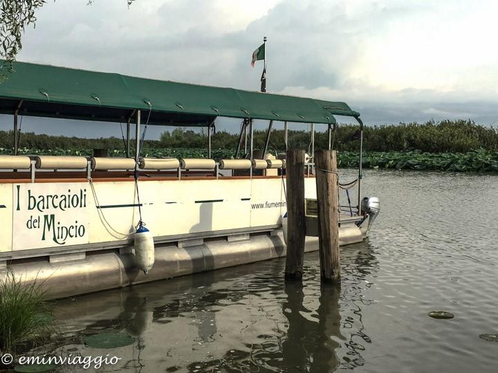 Mantova dall'acqua l'imbarco a Grazie