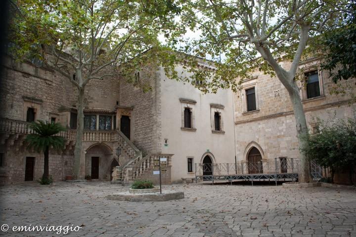 Alto Salento interno del Castello Dentice di Frasso
