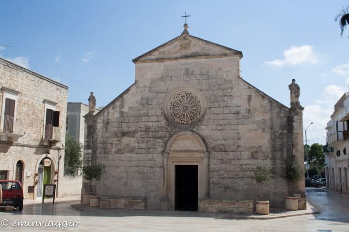 Alto Salento la Chiesa di Madonna della Greca