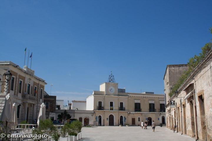 nel cuore della Puglia, San Vito dei Normanni, la piazza