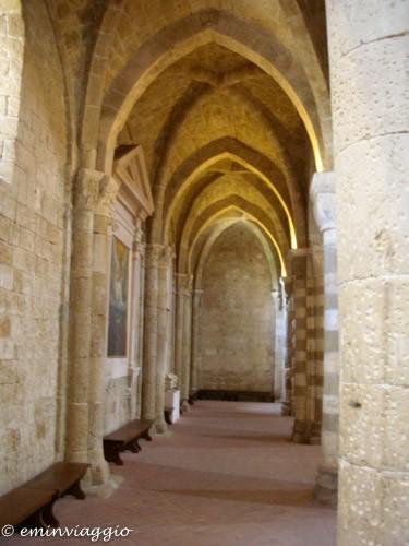 sovana il tesoro di montecristo l'interno della Cattedrale