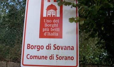 sovana fra i borghi più belli d'Italia