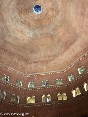 Cremona la cupola del Battistero