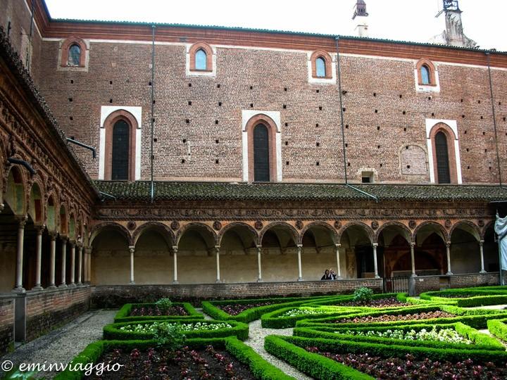 Certosa di Pavia chiostro piccolo