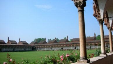 Certosa di Pavia Chiostro grande con le casette dei monaci