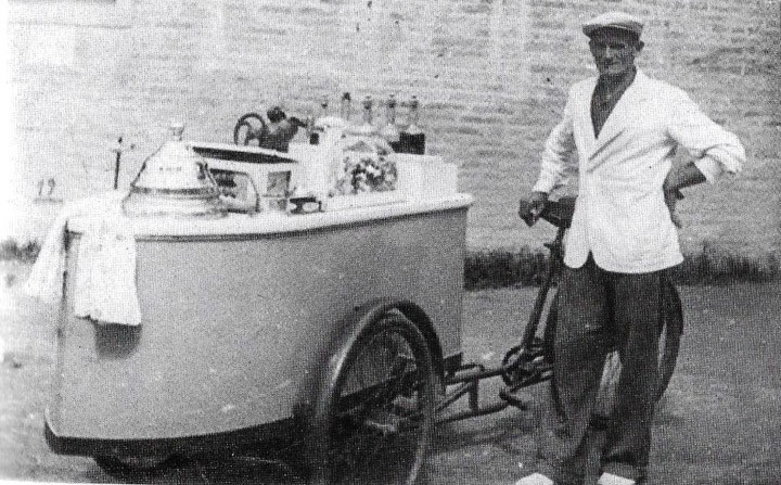 Correggio,ricord, aneddoti e soprannomi: il gelataio Paganelo