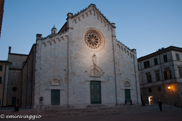 Pietrasanta il Duomo di San Martino