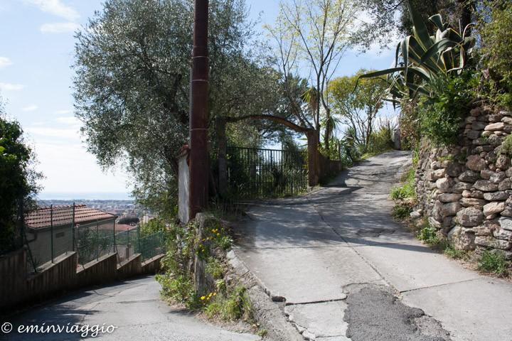 Toscana, Massa percorso per Castello Malaspina